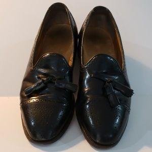 Men's Johnston & Murphy Optima black shoes